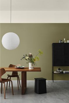 Jotun Lady just came out with their new color chart for 2020 and it makes me want to paint all the surfaces in my apartment in those subtile, yet deep tints. I'm really falling for that Local green wall color … Continue reading → Living Room Green, Living Room Colors, Room Wall Colors, Wall Colours, Living Rooms, Green Wall Color, Color Walls, Green Colors, Jotun Lady