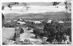 Pomona Fair Grounds From Ganesha Hills, Pomona, California Pomona California, California History, Southern California, Pomona Fair, San Luis Obispo County, San Fernando Valley, Old Pictures, Great Places, County Fairgrounds