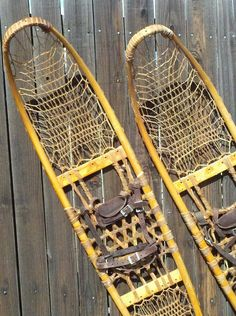 """USA Military Snowshoes - Vintage 58"""" Long Trail Style from VintageWinter"""
