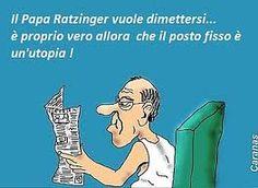 Il Papa si dimette e vince la satira - http://www.lavika.it/2013/02/o-i-veri-motivi-delle-dimissioni-del-papa/