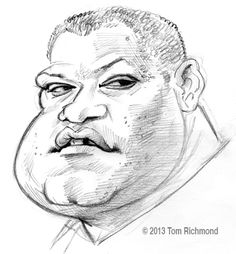 Lawrence Fishburne © 2013 Tom Richmond