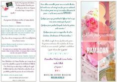 programme du ramadan à imprimer Verso