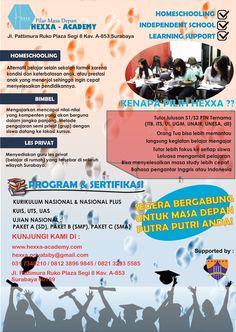Ingin cari guru privat di Surabaya? Hubungi : Hexxa Privat Surabaya Mobile : 081238969845 Email : hexxa.privatsby@gmail.com