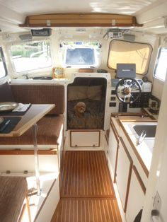C Dory 25 interior