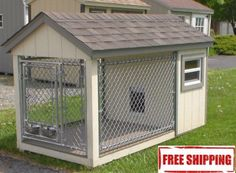 Deluxe Outdoor House for Dogs! Get yours here ➩➩       http://amzn.to/2quQ4DN