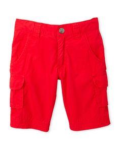 Sarabanda (Infant Boys) Red Cargo Shorts