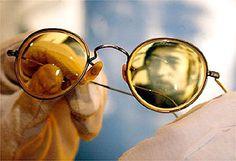 John Lennon's yellow sunglasses