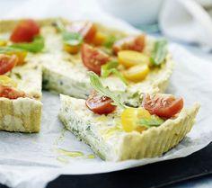 Kom sommerens bedste grøntsager i tærter, det er dejlig nemt at lave, og så smager det helt fantastisk.