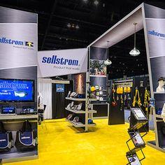 Sellstrom trade show exhiibit