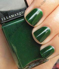 Illamasqua Rampage {oooo, yes! Mani Pedi, Pedicure, Loki Dress, Gorgeous Nails, Floral Crown, New Pins, Green Wedding, Wedding Colors, Essie