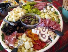 Antipasto platter presentation google search food Ina garten appetizer platter