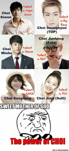 The Power of CHOI  | allkpop Meme Center: for real!! It's true!!
