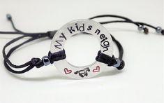 Pet bracelet ,my kids neigh horse lovers bracelet , equestrian gift , horse mom , i love my horse , fur baby mummy ,  pet lover bracelet