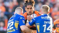 Super League: Castleford add to Leeds frustrations with crushing five-try win BBC Sport Leeds Rhinos, Challenge Cup, Rugby League, Bbc, Things That Bounce, Crushes, Running, Fall, Sports