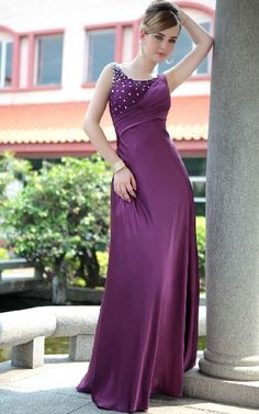 dress shining style dress with embellished broach and slit see related ...