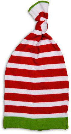 Red and White Stripe Hat by Izzy & Owie - Giggles Gear
