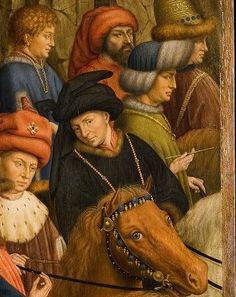 Van Eyck, Agneau mystique, Juges intègres