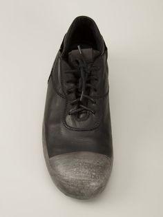 O.X.S. RUBBER SOLE - Low-Top Leather Sneaker - 7L4551U WHITE/COLLA - H. Lorenzo