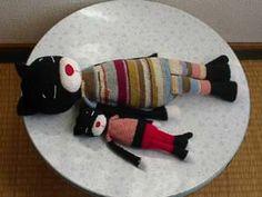 """crochet oversized amigurumi cat """"Amari's"""" like Ameniko"""