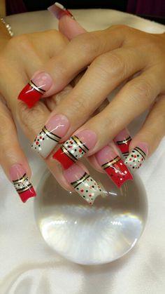 Confetti nails Beautiful Nail Art, Gorgeous Nails, Pretty Nails, Teal Nail Designs, Acrylic Nail Designs, Classy Nails, Fancy Nails, Holiday Nails, Christmas Nails