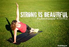 Strong is Beautiful #whatsbeautiful #Iwill #underarmour #Fitfluential