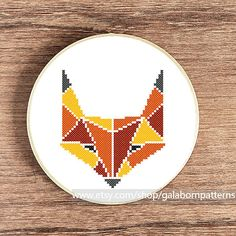 Hey, I found this really awesome Etsy listing at http://www.etsy.com/listing/162205676/fox-pdf-counted-cross-stitch-pattern