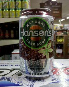 Hansen's Vanilla Cola. Bacardi, Caffeine, Mixer, Vanilla, Cherry, Canning, Drinks, Free, Drinking