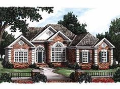 Eplans New American House Plan - True Elegance - 1945 Square Feet and 4 Bedrooms(s) from Eplans - House Plan Code HWEPL07839