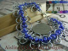 Celtic Wings Silver Base Bracelet by aislinnscollared on Etsy