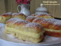 Recepty - Strana 6 z 44 - Vychytávkov Hungarian Recipes, Thing 1, Ciabatta, Eat Dessert First, Pavlova, Cake Cookies, Hot Dog Buns, Minion, Cake Recipes