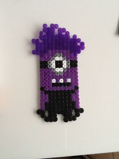 Evil Minion Despicable Me hama perler beads by Sofie Overmark Petersen