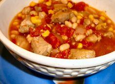 Crock Pot Chipotle Pork Chili