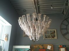 cool bottle light fixture #upcycle #recycle :)