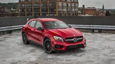 2015 Mercedes-Benz GLA45 AMG front view