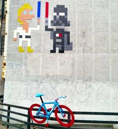 by Invader in London (LP)