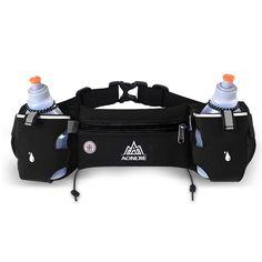 Aonijie mannen vrouwen running taille pack outdoor sport wandelen racing gym fitness lichtgewicht hydratatie riem waterfles hip bag
