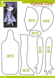 Resultado de imagen para how to make cloth doll body