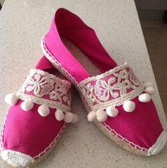 Espadrilles, Espadrille Shoes, Shoe Clips, Crochet Shoes, Cute Sandals, Shoe Art, Painted Shoes, Toddler Shoes, Cheap Shoes