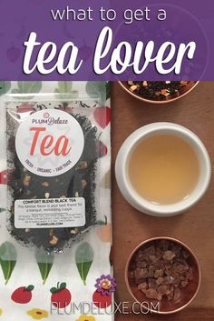 Not sure what to get a tea lover? Here are some ideas – from something simple like loose leaf tea or a mug, to fancy infusers and accessories. #giftideas #gift #tea #plumdeluxe Tea Gifts, Party Gifts, Tea Party, Best Loose Leaf Tea, Tea Gift Baskets, Best Tea, Tea Blends, Tea Cakes, Tea Recipes