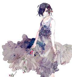 Touka. She looks so pretty