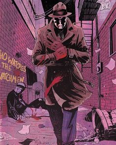 #Rorschach by Tyler Champion  #WalterKovacs #Watchmen #DC #Comics