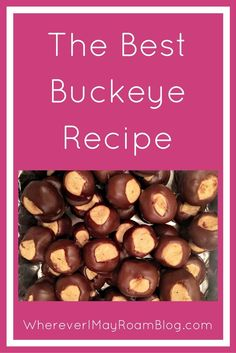 Looking for an easy dessert recipe to impress your friends and tantalize your taste buds? These little peanut butter/chocolate babies are just the answer. Buckeyes have been a long favorite for years.