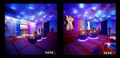 Fabric Ceiling Nightclub