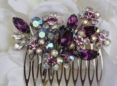 purple wedding jewelry WANT