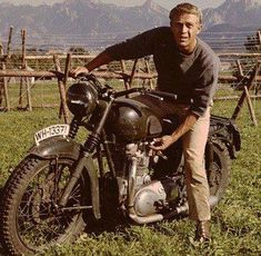 My Style Features Actor Steve McQueen in The Great Escape ... See More @gr8traveltips