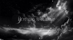 ariana grande - be alright lyric video (fanmade)