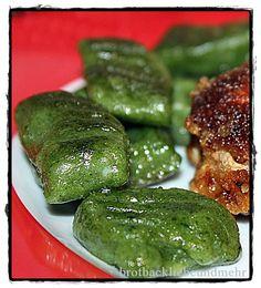brotbackliebeundmehr - Foodblog - Spinat-Gnocchi*****