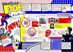 Pop Art History, History Images, Pop Art Andy Warhol, Art Worksheets, Teaching History, Humor Grafico, Art Pop, Art Lessons, Animals And Pets