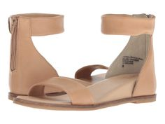 Comfortable sandals for wedding - beach wedding shoes - Seychelles lofty sandal in vachetta leather, $79, Zappos - Check out more summer sandals on WeddingWire!