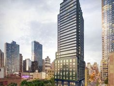 30-story rental tower near Hudson Yards tops out